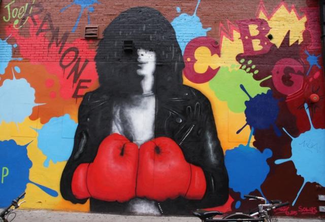 Wijlen Joey Ramone is nog altijd een cultheld in zijn biotoop, de Lower East Side