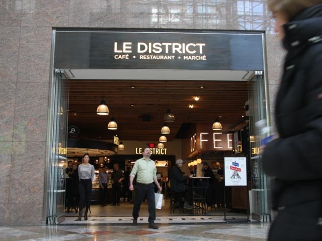 le district