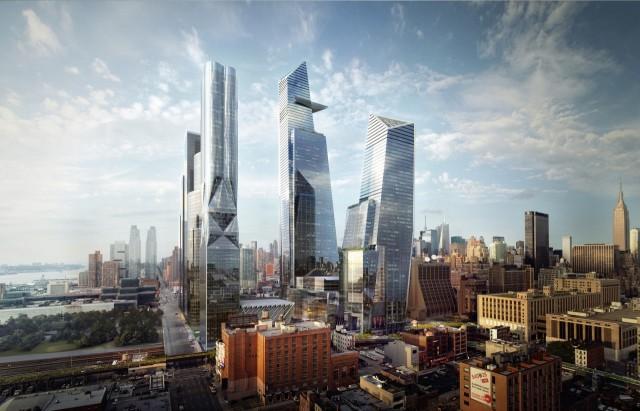 Zo zouden de Hudson Yards er binnen enkele jaren uitzien.