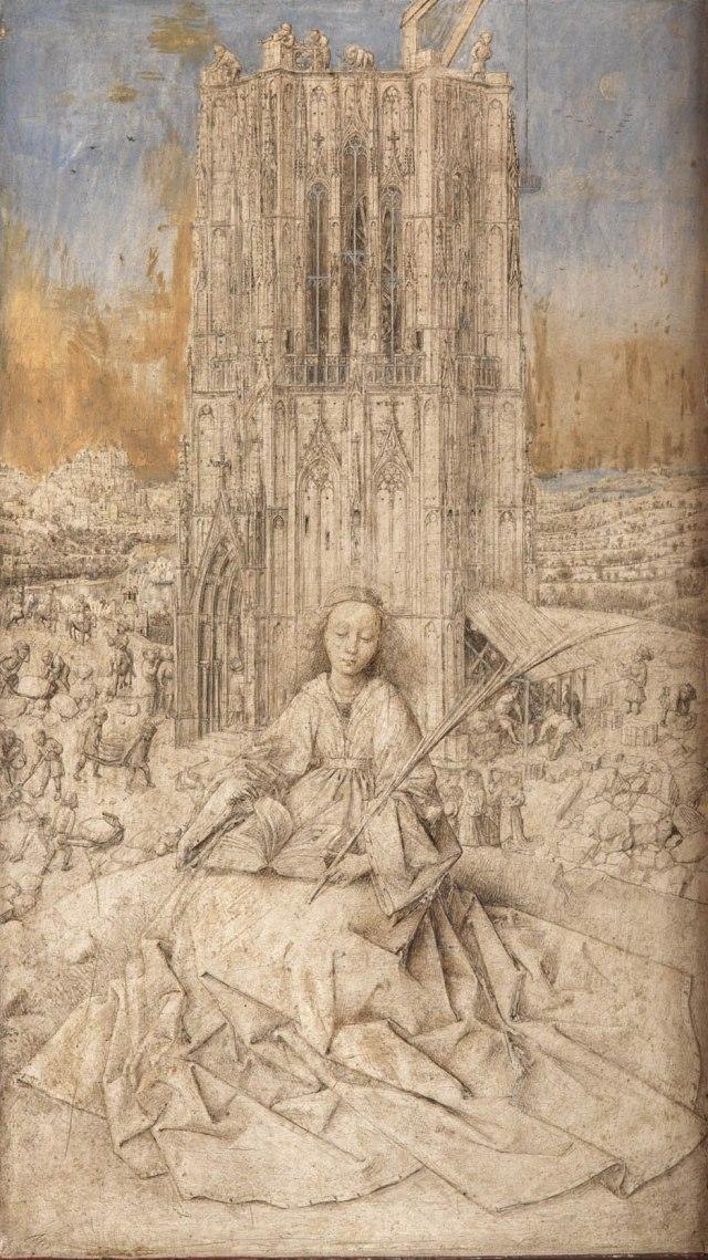 Van Eyck  Sint Barbara