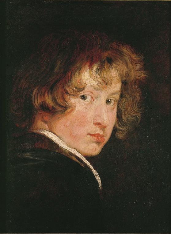 Van Dyck zelfportret aan 15 jaar (1614)