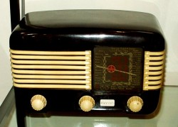 bakelieten radio