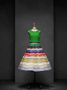 Een jurk van Raf Simons
