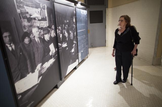 Red Star Line Museum exhibit event at Ellis Island in New York. Photo © Robert Caplin