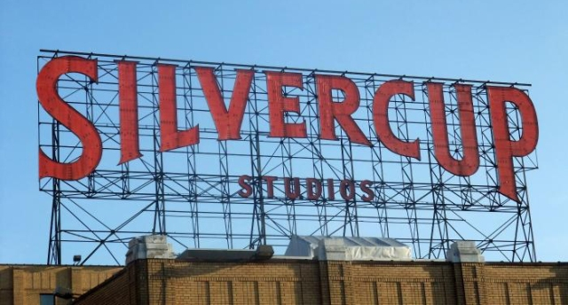 The Silvercup studios in Long Island City, Queens