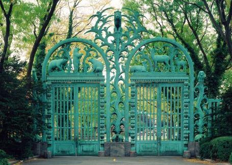 The Rainey gates, Bronx Zoo