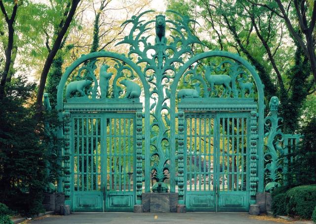 The Rainey gates, Bronx Zoo